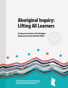 Cover page of the Aboriginal Inquiry: Lifting All Learners report